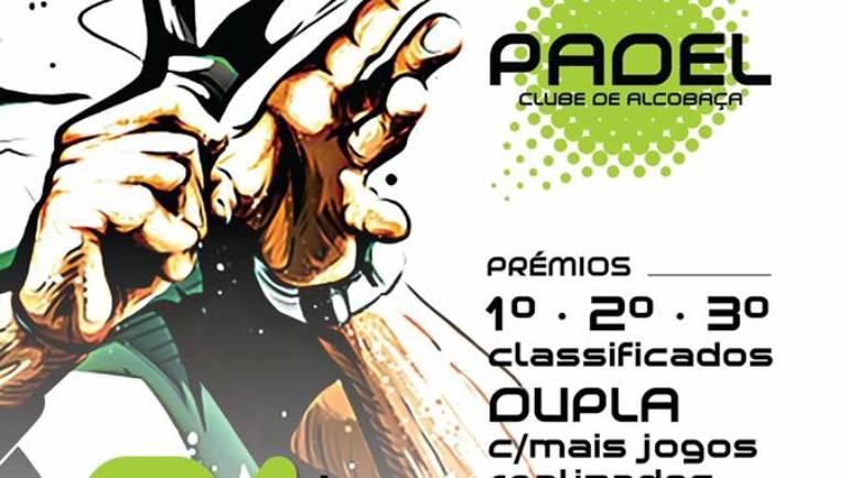 O 1º torneio escada do Padel de Alcobaça já começou